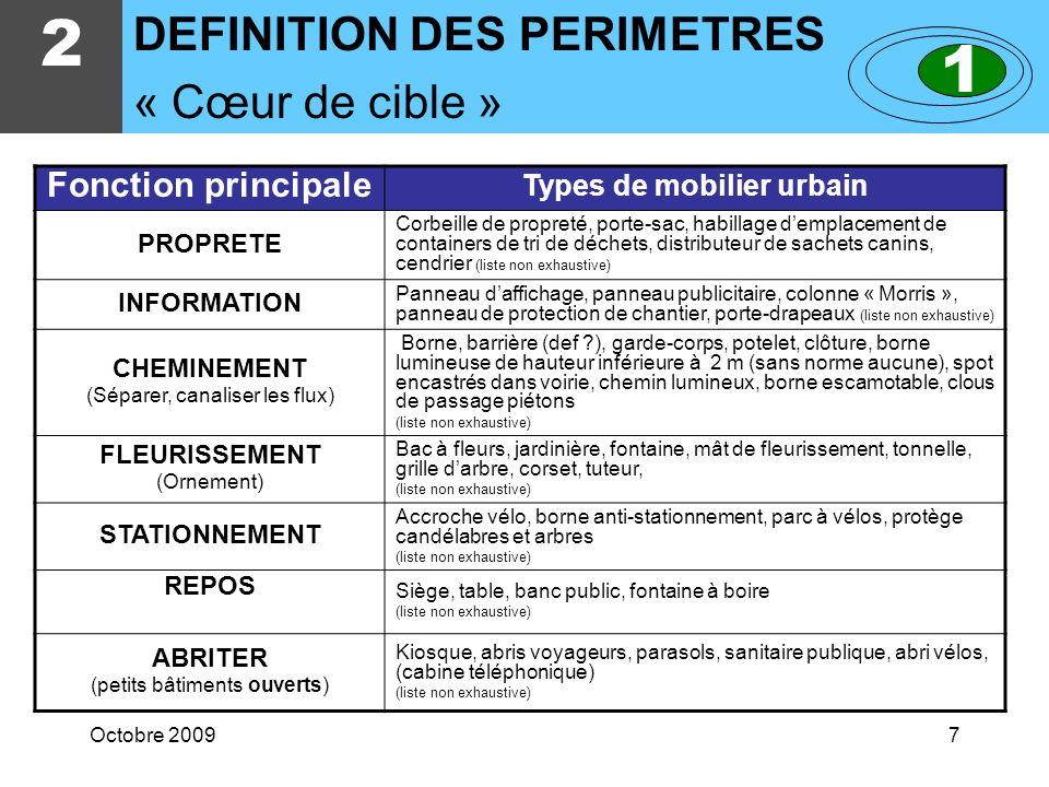 Octobre 200927 NF P 99-650 Juillet 1991 5 EXTRAITS DE QUELQUES TEXTES Maintenance du mobilier urbain dambiance et de propreté