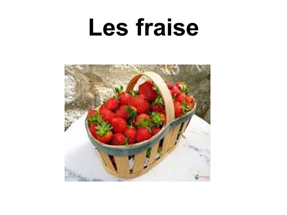 Les fraise
