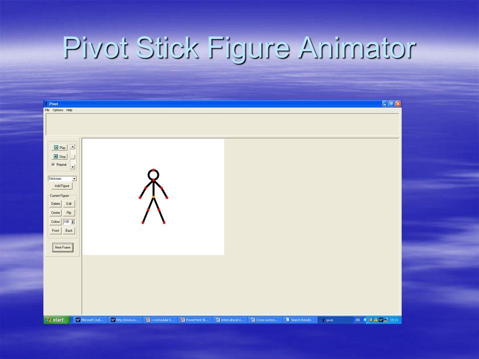 Pivot Stick Figure Animator