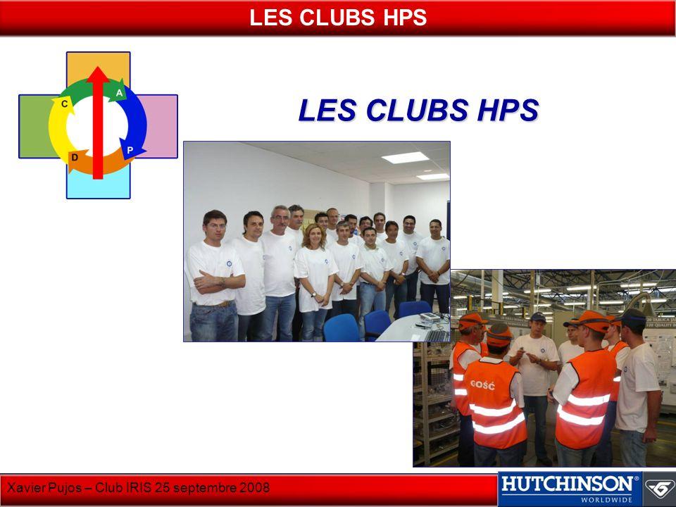 LES CLUBS HPS