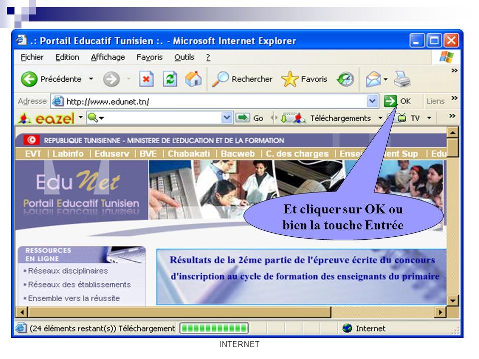 Mme Lahbib Ilhem INTERNET La recherche sur le Web Recherche par adresse: On peut faire la recherche dinformations en utilisant ladresse de site Web. =
