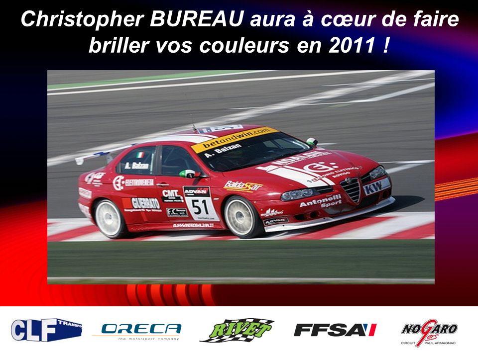 Christopher BUREAU aura à cœur de faire briller vos couleurs en 2011 !