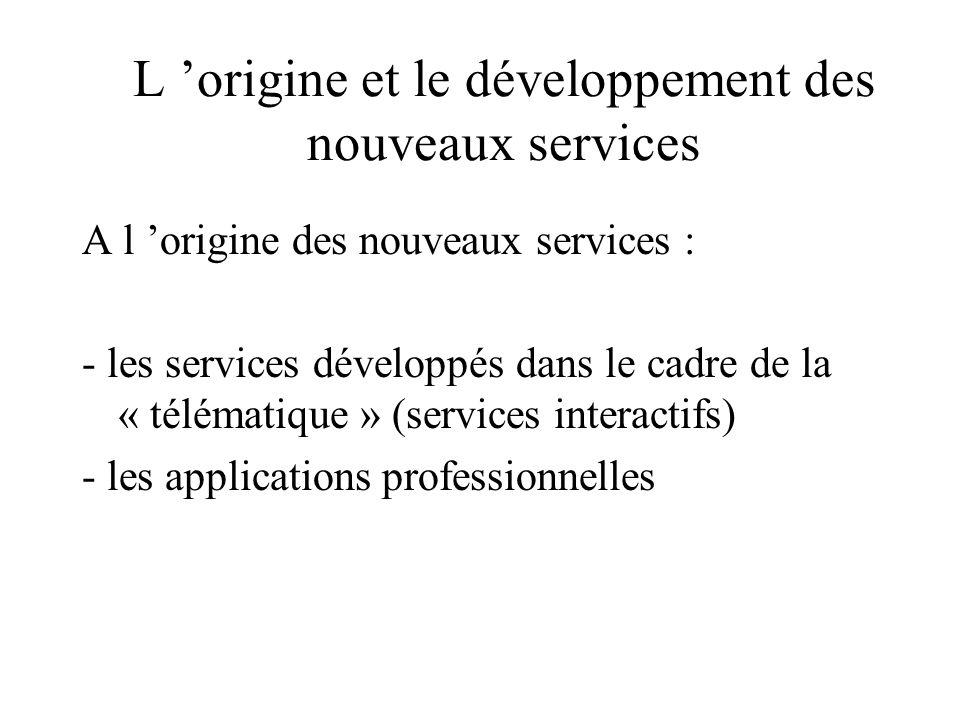 2ème typologie : services off-line (autonomes) et on line (raccordés): « les trois familles » Autonomes : Edition électronique - livres -disques -film