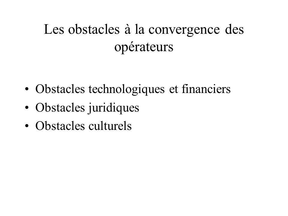 Les voies de la convergence des opérateurs : typologie des alliances Les alliances, fusions et acquisitions réalisées depuis les années 1990 : observa