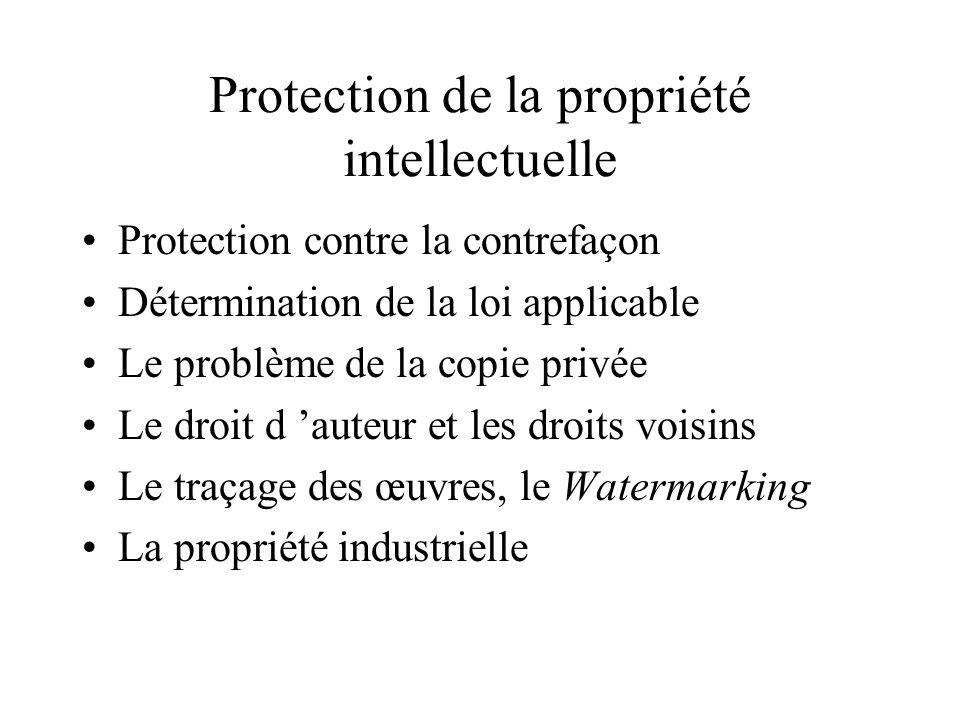 La sécurisation du commerce électronique Sécurité juridique du consommateur Signature électronique (preuve de transaction) Certification Confidentiali