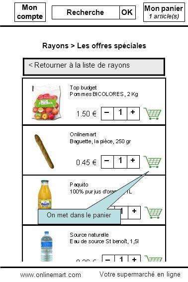 Mon compte Recherche OK Mon compte Recherche OK Mon panier 1 article(s) < Retourner à la liste de rayons Rayons > Les offres spéciales Votre supermarc