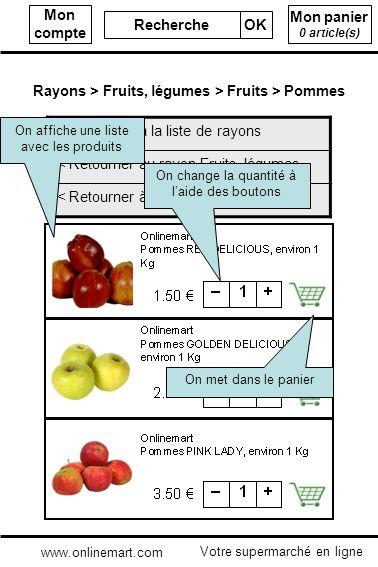Mon panier 0 article(s) Mon compte Recherche OK < Retourner à la liste de rayons < Retourner au rayon Fruits, légumes < Retourner à la catégorie Pomme