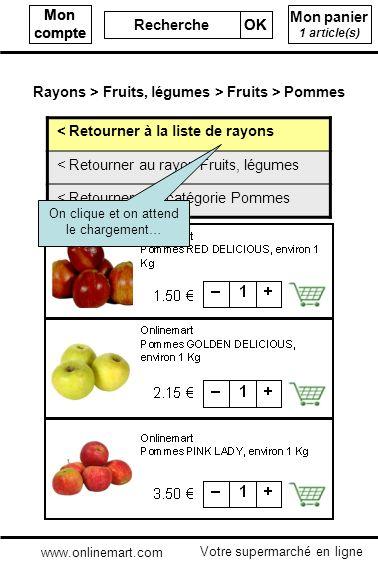 Mon compte Recherche OK Mon compte Recherche OK Mon panier 1 article(s) < Retourner à la liste de rayons < Retourner au rayon Fruits, légumes < Retour