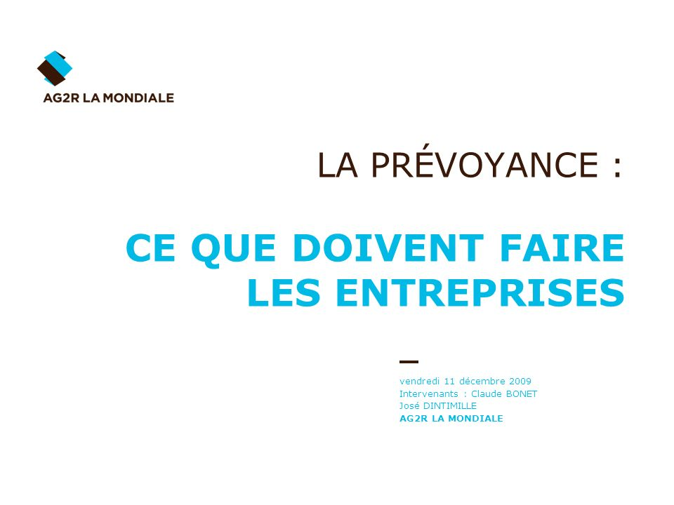 09/12/2009 32/48 La portabilité des droits de Prévoyance - Santé 1.