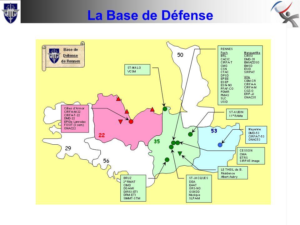 Conseil de base Comité Social de Rennes La Base de Défense