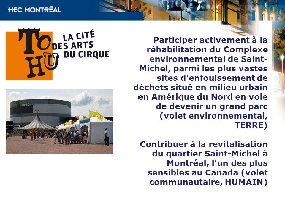 Participer activement à la réhabilitation du Complexe environnemental de Saint- Michel, parmi les plus vastes sites denfouissement de déchets situé en