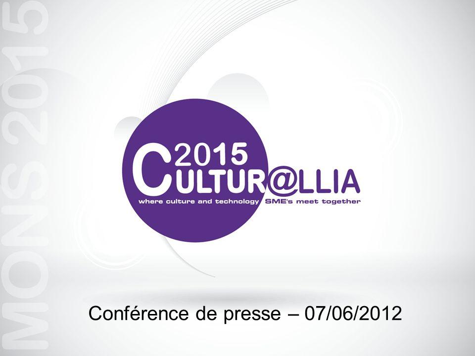 Promotion CULTUR@LLIA Stand Cultur@llia lors de FUTURALLIA 2012 Concours via Web Key: Chocolats Roll-up Site Web: www.culturallia2015.com