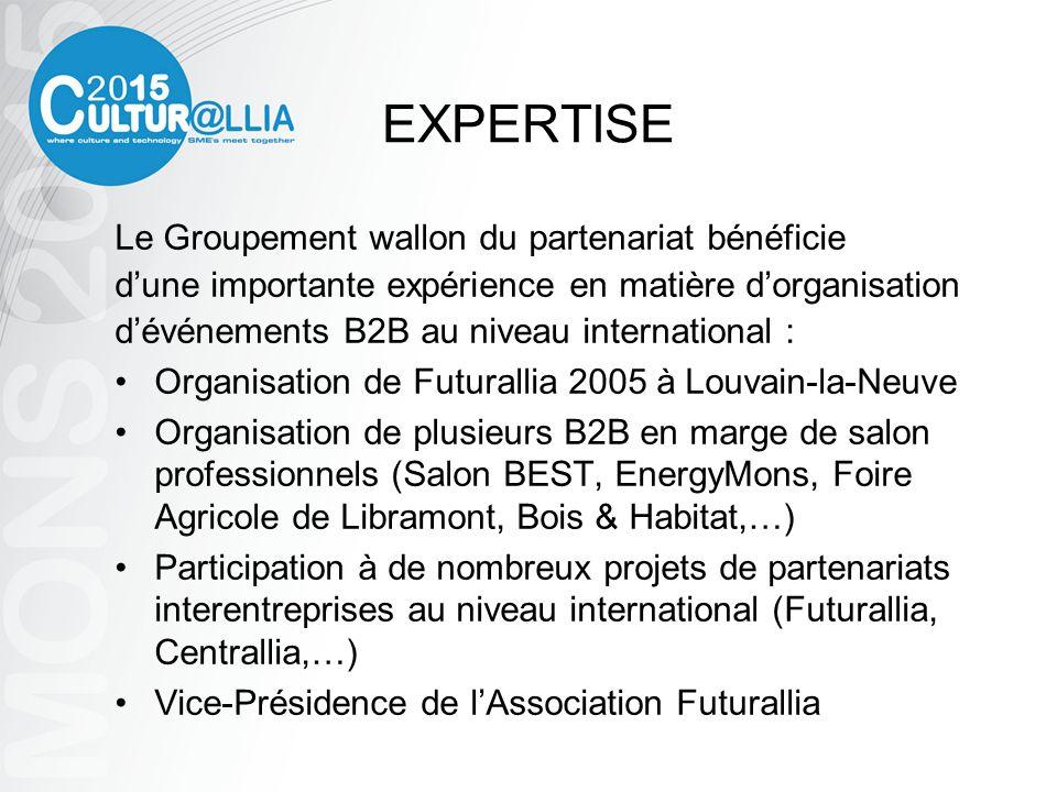 CONTACTS Groupement wallon du partenariat Lionel BONJEAN – Président Alexandra DUPONT – Coordinatrice 19 place de La Hestre B-7170 La Hestre Tél.