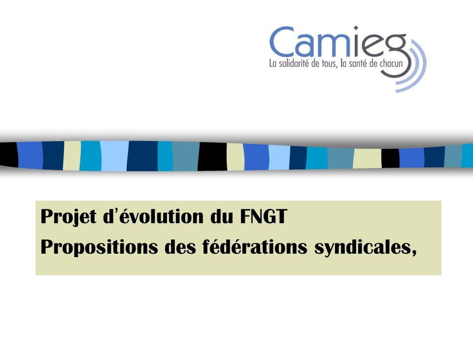 Propositions des fédérations syndicales Présentation 1.