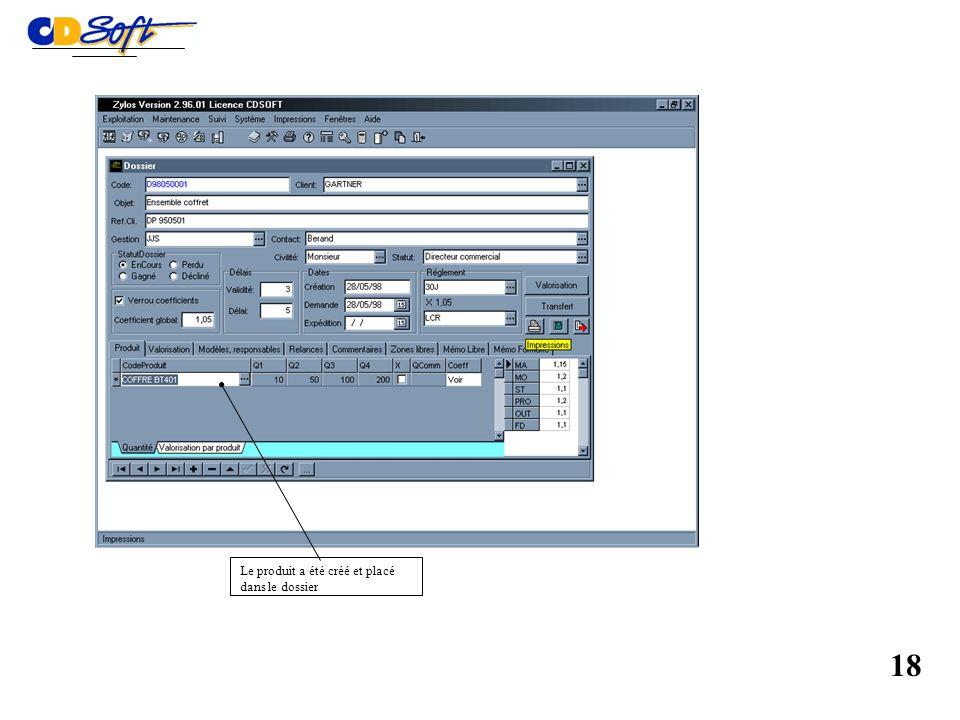 Calcul automatique des délais de fabrication complets ou réguliers 17