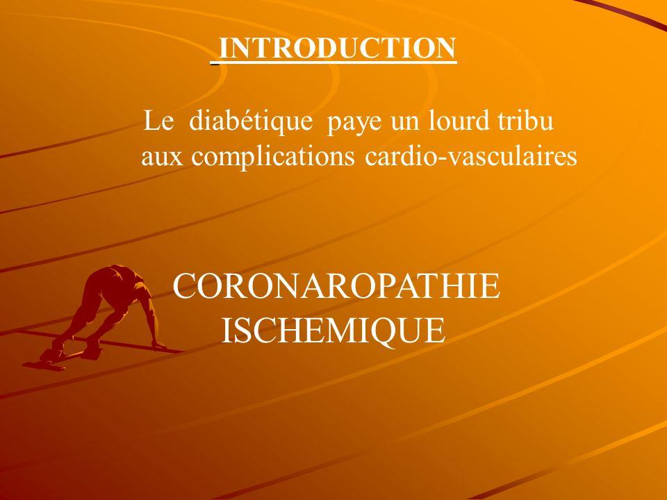 PREVENTION DU RISQUE.PREVENTION DU RISQUECARDIO-VASCULAIRE CHEZ LE DIABETIQUE Dr Tahar Bensaoula ( réanimation médicale )