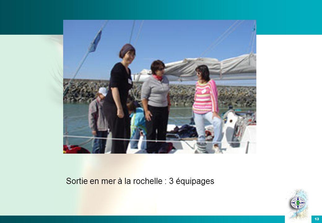 Sortie en mer à la rochelle : 3 équipages 13