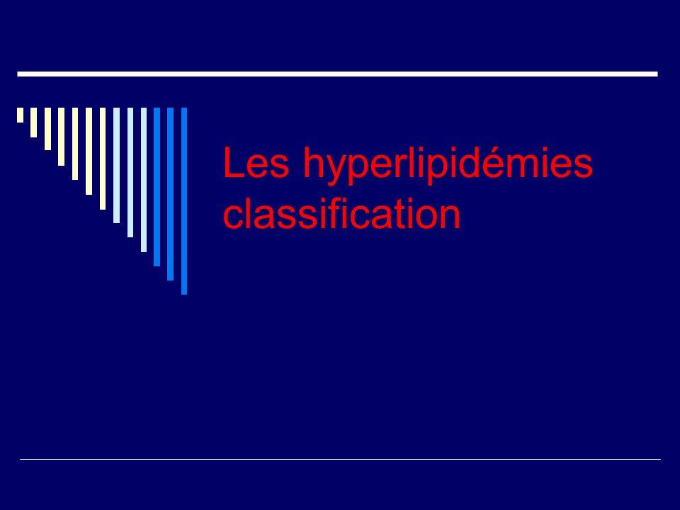 Biologiquement le sérum a un aspect laiteux, la triglycéridémie est élevée > à 10 g/ L, le cholestérol est normal, le rapport cholestérol / triglycéride est < 0,5.