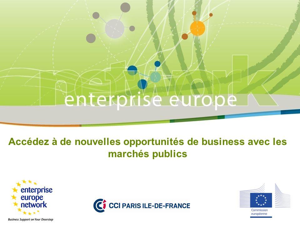 Accédez à de nouvelles opportunités de business avec les marchés publics
