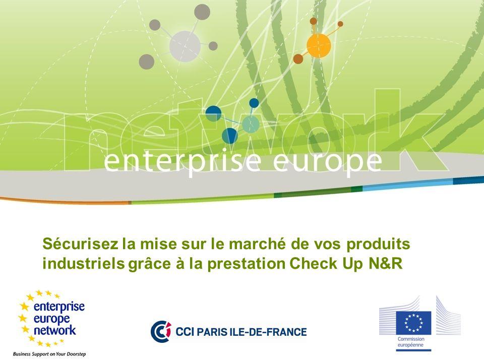Sécurisez la mise sur le marché de vos produits industriels grâce à la prestation Check Up N&R