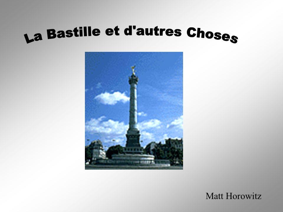 L histoire de la Bastille dans les Temps de la Révolution Française La bastille a été fait au 17ème siècle.
