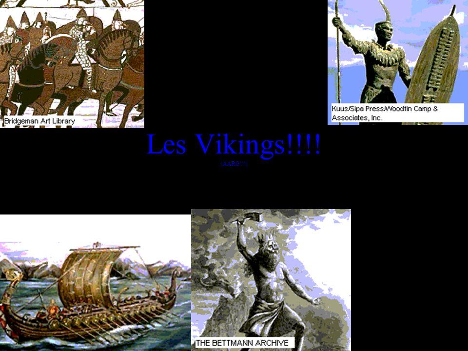 Les Vikings!!!! (AARG!!!)