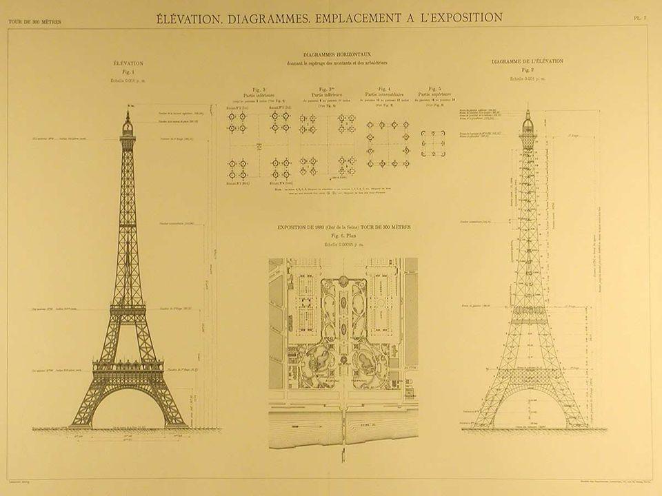 Gustave Eiffel Gustave né en 1832, il sort de l École Central des Arts et Manufactures en 1855.