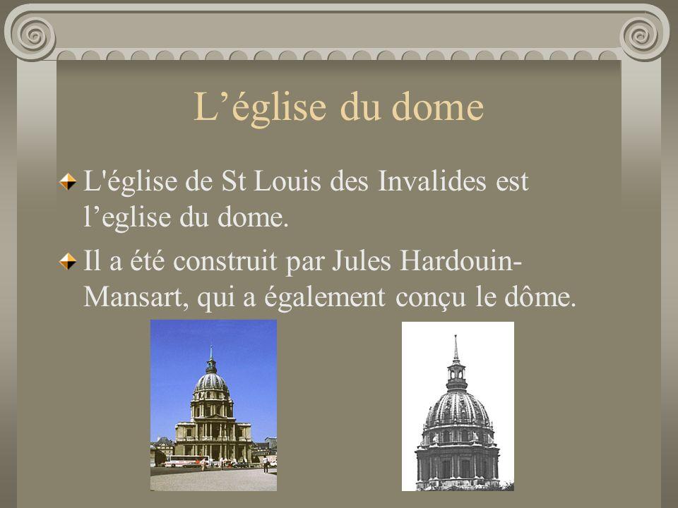 Faits Intérressants Il est l'un des monuments les plus prestigieux de Paris. Il abrite 4 musées: le musée de l'Armée, le musée d'Histoire Contemporain