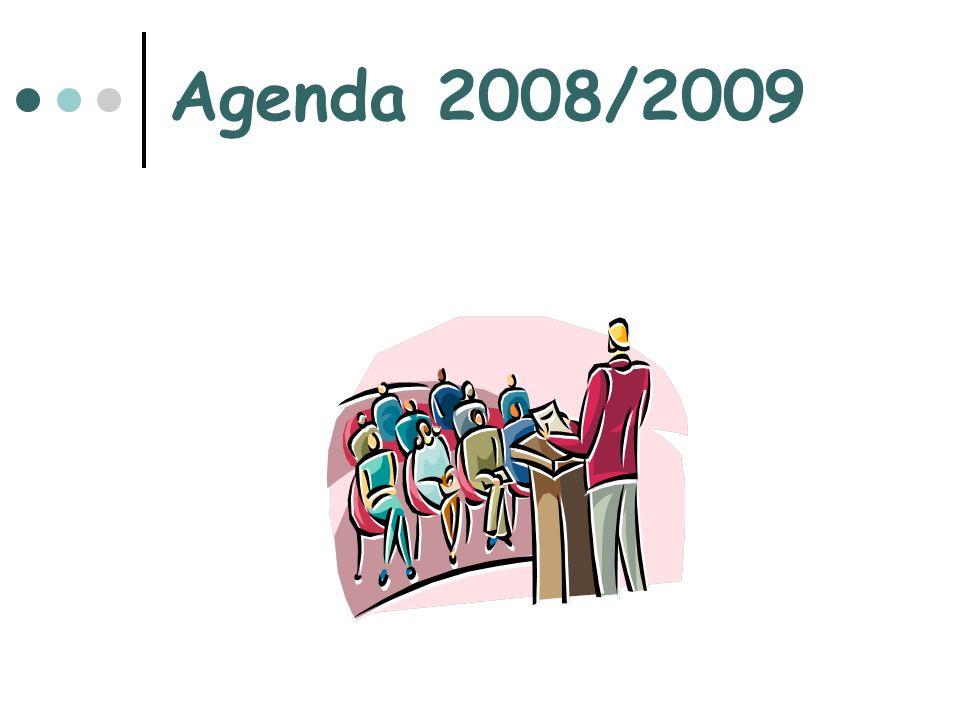Agenda 2008/2009