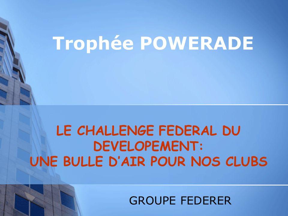CONSTATS Existence dun trophée sportif PERRIER - et le développement .