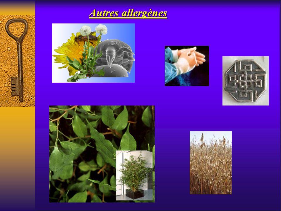 Autres allergènes