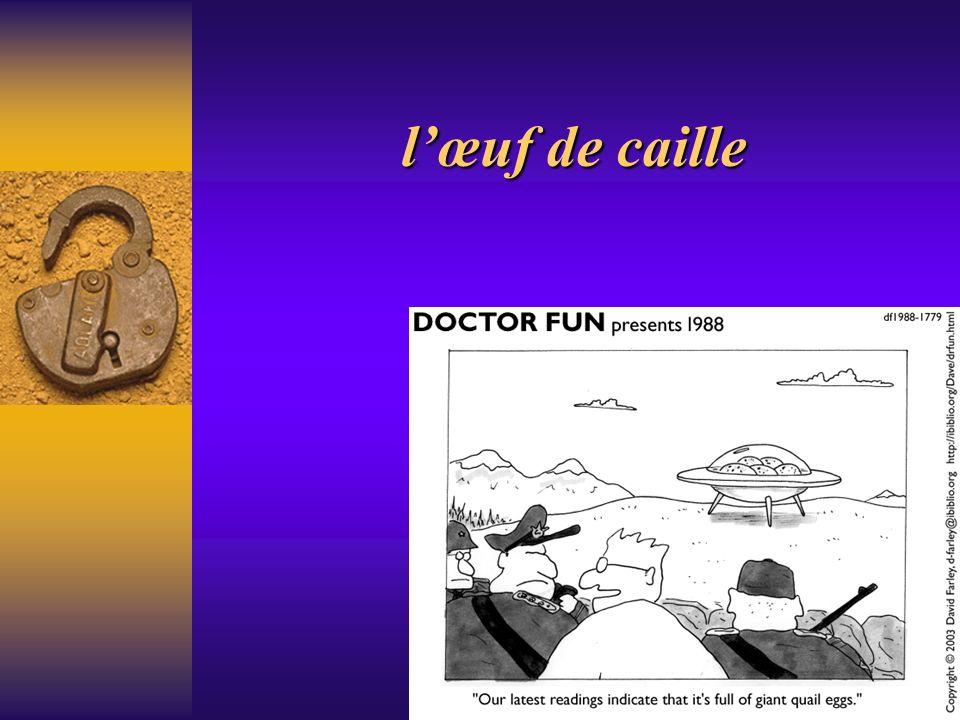 Seule étude clinique publiée en France par Truffier Ce médecin généraliste du sud ouest de la France avait entendu dire que des asthmatiques travaillant dans des élevages de cailles, avaient vu leur asthme disparaître.
