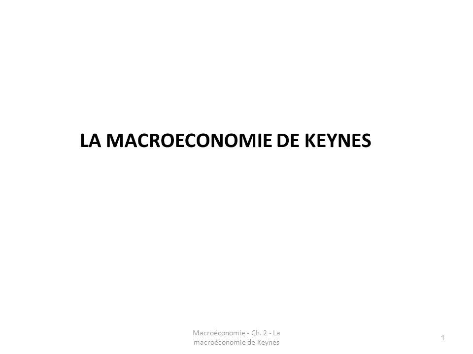 Macroéconomie - Ch.