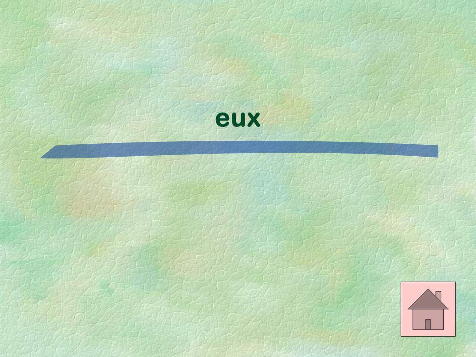 Le bon mot $500 Ils vont chez _____. (their house)