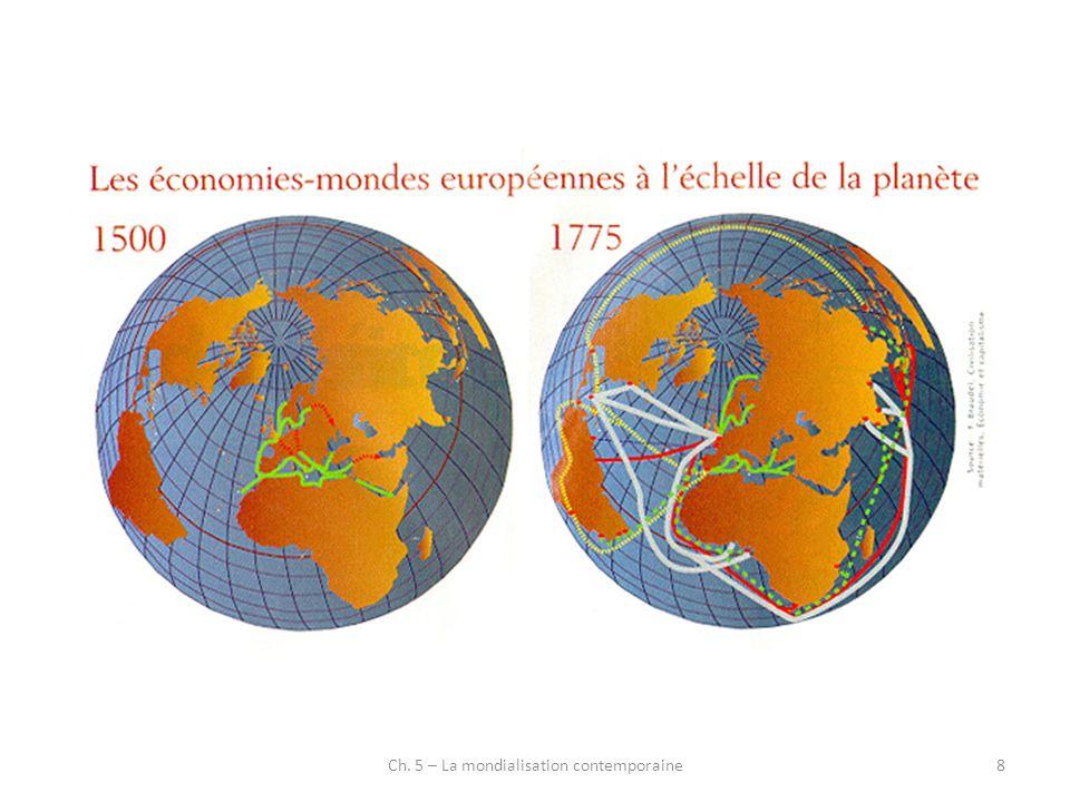 9 Impact des Grandes Découvertes Elargissement espace économique mondial Développement nouveaux flux commerciaux (facilitation commerce lointain) Mais (K.