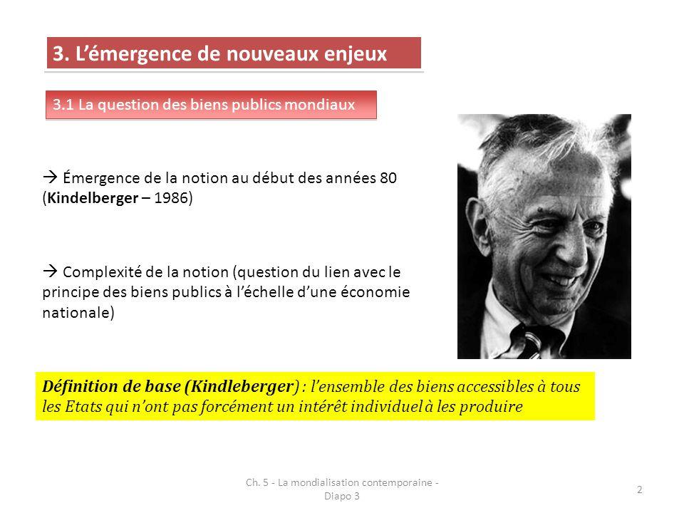 Ch. 5 - La mondialisation contemporaine - Diapo 3 23
