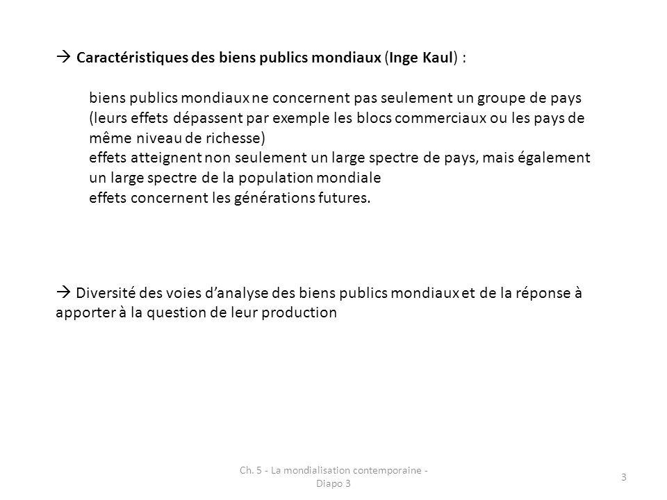 Ch. 5 - La mondialisation contemporaine - Diapo 3 24 Made in America, again – BCG – aout 2011