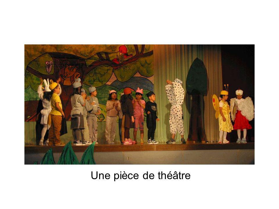 Une pièce de théâtre