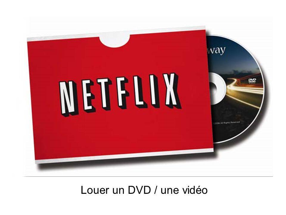 Louer un DVD / une vidéo