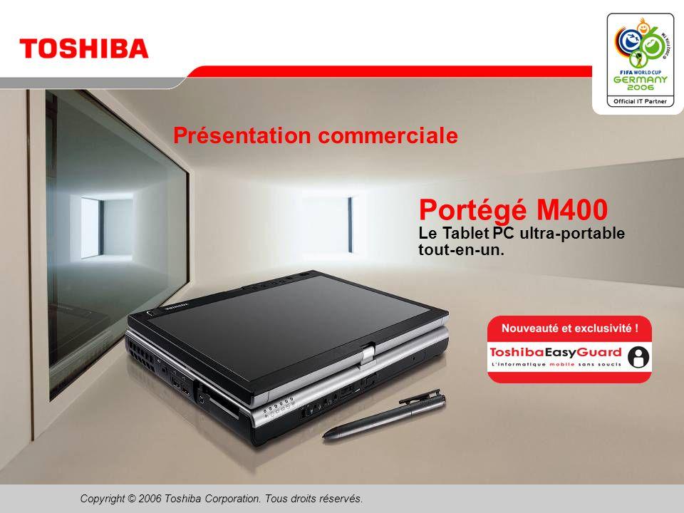 Février 200611/Portégé M400 Technologie mobile Intel ® Centrino ® Duo Avantages pour B2B « Je peux en faire plus en même temps .