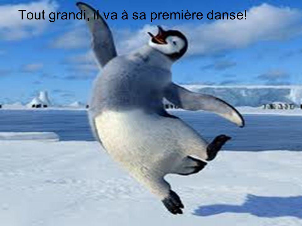 Tout grandi, il va à sa première danse!