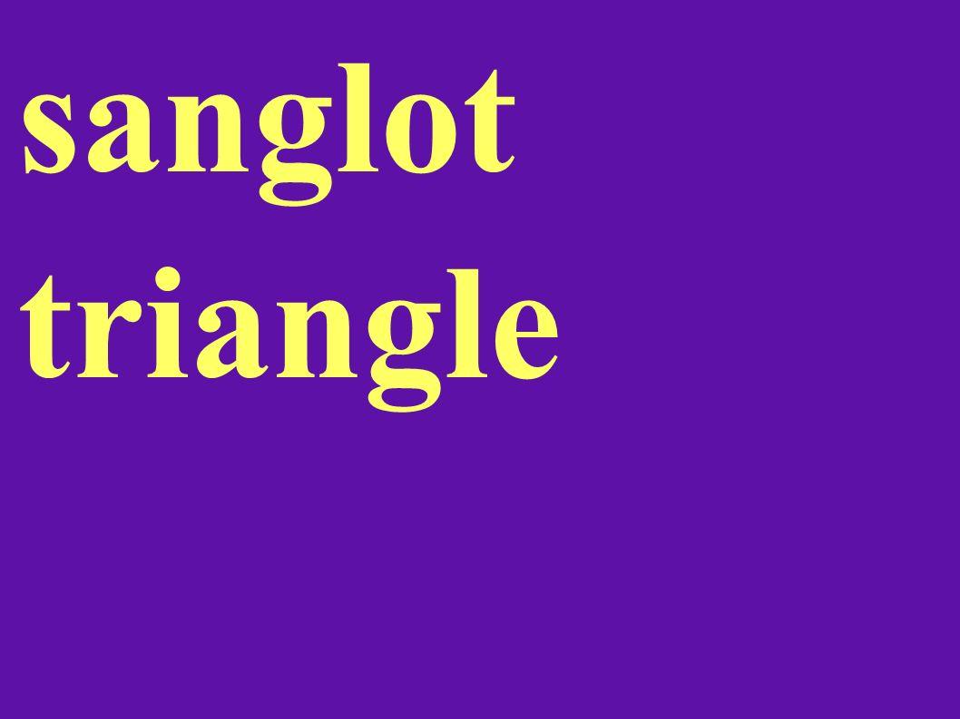 sanglot triangle