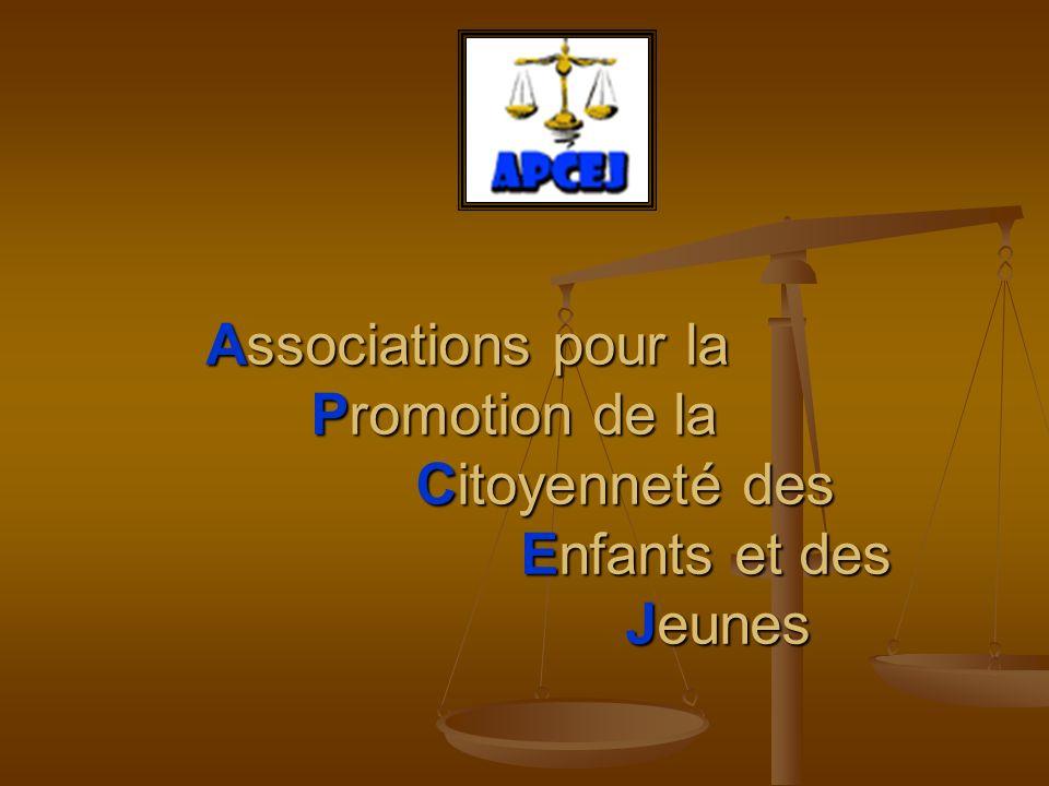 Associations pour la Promotion de la Citoyenneté des Enfants et des Jeunes