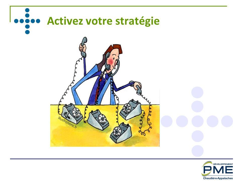 Activez votre stratégie