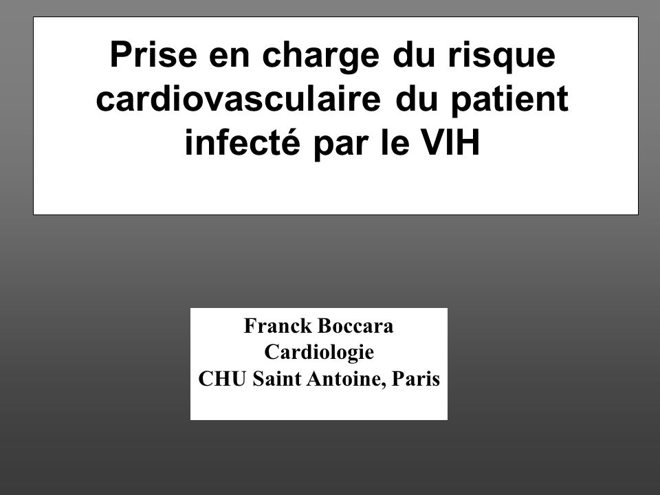 SYNDROME METABOLIQUE VIH+ et MODIFICATION DU STYLE DE VIE Grinspoon SK et al. AIDS 2006:1843–1850