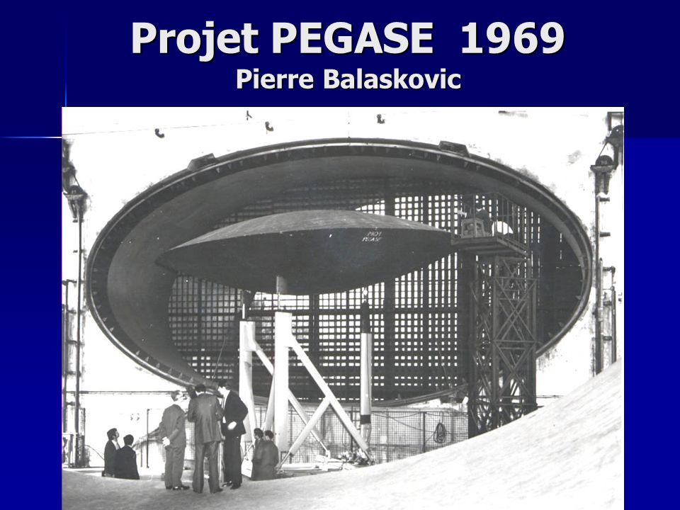 Projet PEGASE 1969 Pierre Balaskovic