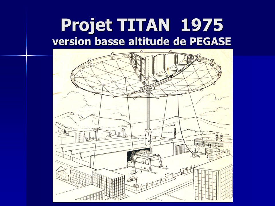 Projet TITAN 1975 version basse altitude de PEGASE