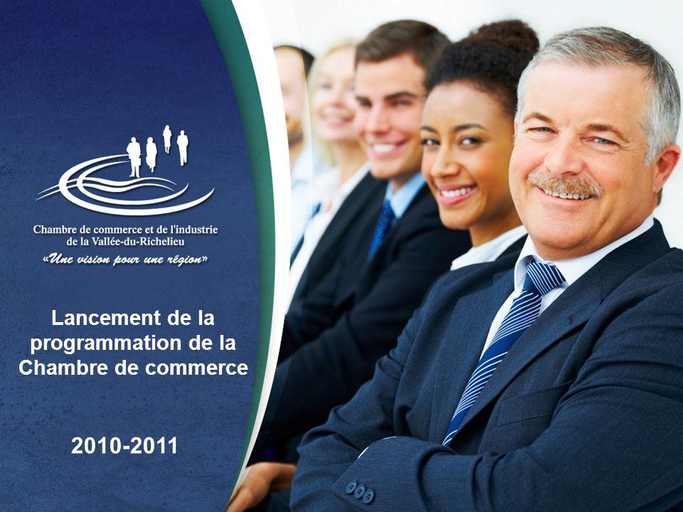 Lancement de la programmation de la Chambre de commerce 2010-2011
