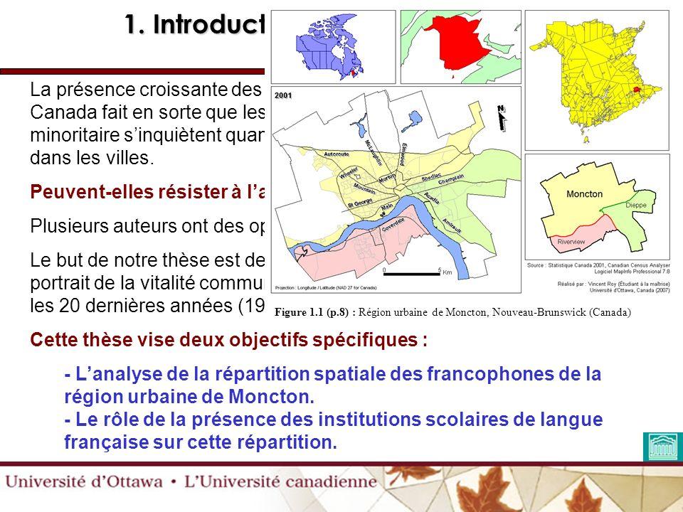 La présence croissante des minorités francophones en milieu urbain au Canada fait en sorte que les spécialistes de la langue française en milieu minoritaire sinquiètent quant à la vitalité des populations francophones dans les villes.