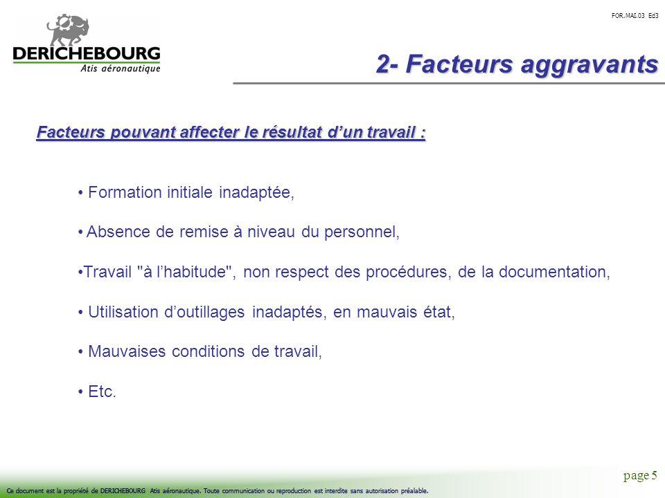 page 5 Ce document est la propriété de DERICHEBOURG Atis aéronautique. Toute communication ou reproduction est interdite sans autorisation préalable.